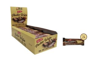 Caja de Protein Wafer de chocolate Prou - Diet Premium
