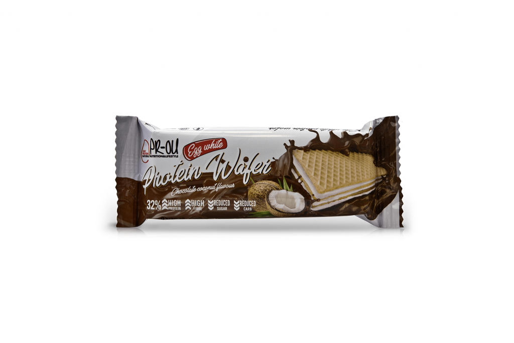 protein wafer coco chocolate prou